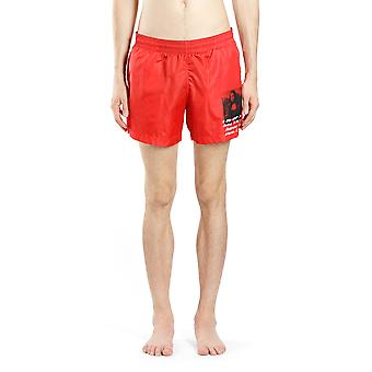 Off-white Black/red Nylon Trunks