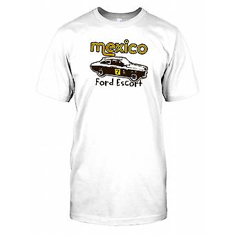 Ford Escort Messico - automobile sportiva classica Mens T-Shirt