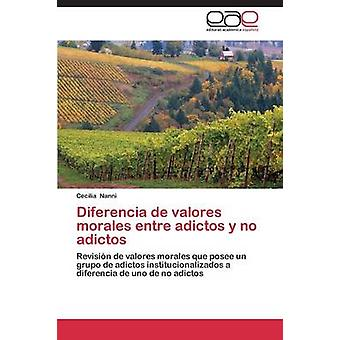 Diferencia de Valores Morales Entre Adictos y No Adictos by Nanni Cecilia