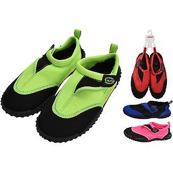 Nalu Aqua sko størrelse 7 spædbarn - 1 par assorterede farver