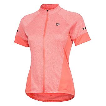Pearl Izumi Coral-Peach Select Escape Womens Short Sleeved Cycling Jersey