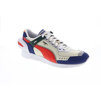 Puma Rs-1 Ader Error  Mens Beige Tan Blue Casual Low Top Sneakers Shoes