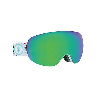 Electric Forest-Brose-Green Chrome 2019 EG3.5 Snowboarding Goggles