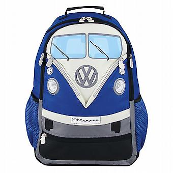 Official VW Camper Van T1 Bus Rucksack Backpack Bag - Blue