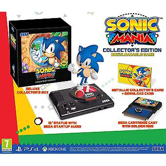 Sonic Mania Collectors Edition PS4 Game (Duits geval-Engels/EFIGS in het spel)
