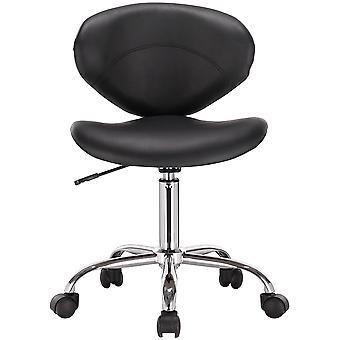 Venus Adjustable Height Massage Stool w/Wheels