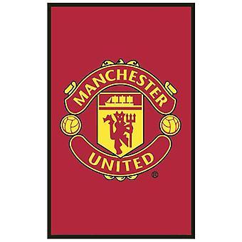 Manchester United FC Crest Floor Rug