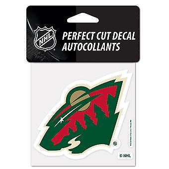 Wincraft decal 10x10cm - NHL Minnesota Wild