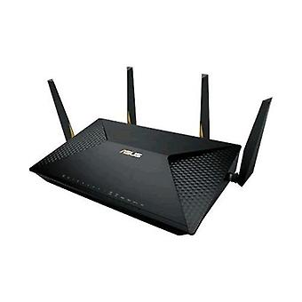 Asus brt-ac828 dual-band (2.4 ghz/5 ghz) gigabit ethernet 3g 4g black wireless router