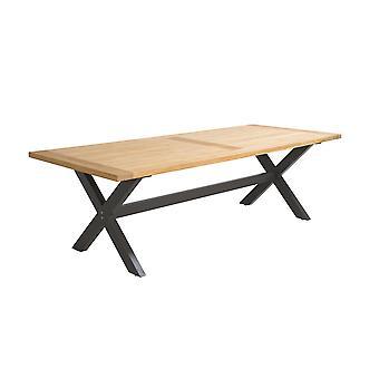 Flughafen7 | Moonlight Tisch 240 x 100 x 76 |  Mystische grau | Gartentische