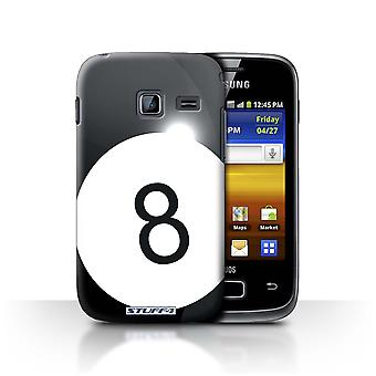STUFF4 Case/Cover for Samsung Galaxy Y Duos/S6102/Pool/Billiards/Sports Balls
