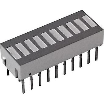 LED bargraph array Red (L x W x H) 25.4 x 10.16 x 9.14 mm Broadcom