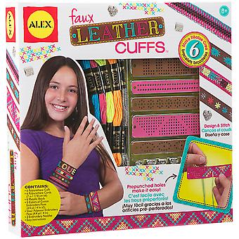 Faux Leather Cuffs Kit- A1721