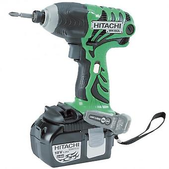 Hitachi Impact screwdriver 2 batteries 18v 4.0 Ah Li ION