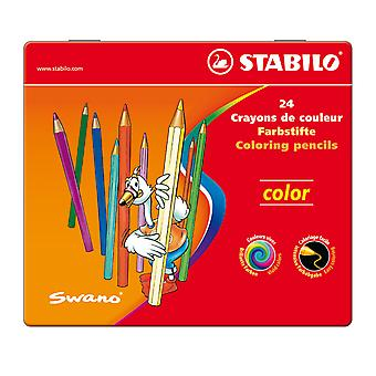 STABILO-979 Farbe Bleistift 24 STS in Metall