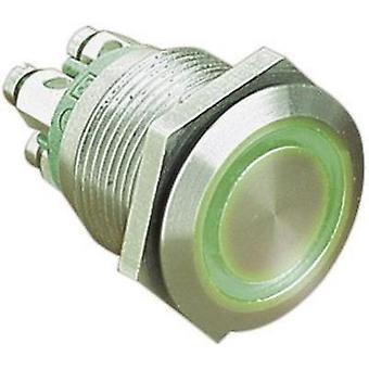 Tamper-proof pushbutton 24 Vdc 0.05 A 1 x Off/(On) ESKA Bulgin MPI002/TERM/GN IP66 momentary 1 pc(s)