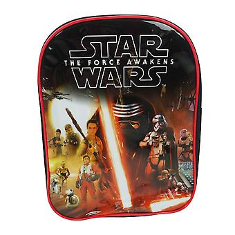 Star Wars Episode 7 The Force Awakens Rule the Galaxy PV Backpack School Bag