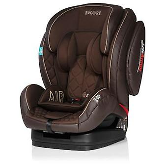 MS Encore Fix Luxe Marrón Grupo 1-2-3 Con Isofix