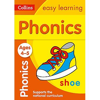 Phonics Ages 4-5 (Collins Easy Learning Preschool) (Paperback) by Collins Easy Learning