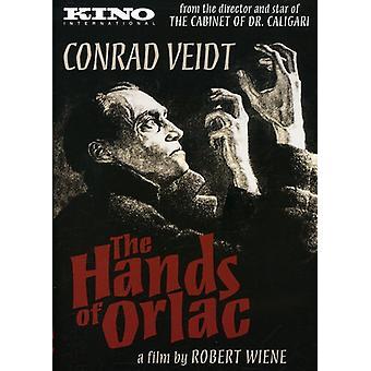 Hænderne på Orlac (1924) [DVD] USA import