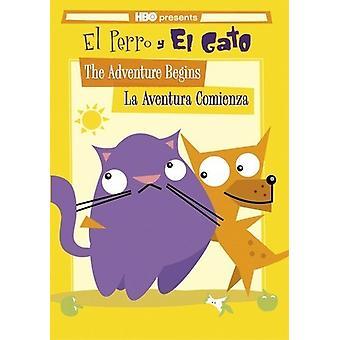 Adventure Begins/La Aventura Comienza [DVD] USA import