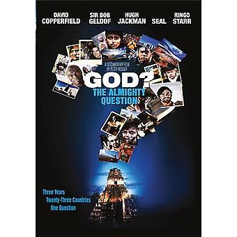 Gud: Almægtige spørgsmål [DVD] USA importen