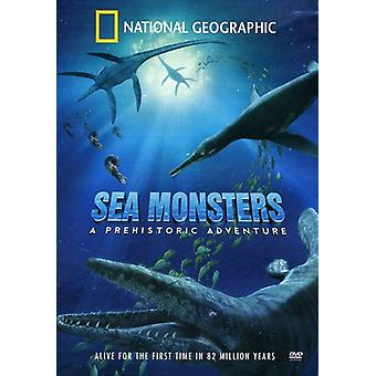 National Geographic - Sea Monsters [DVD] USA import