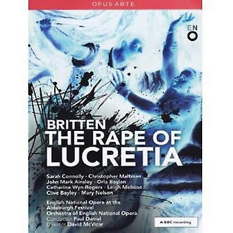 B. Britten - import USA gwałt na lukrecji [DVD]