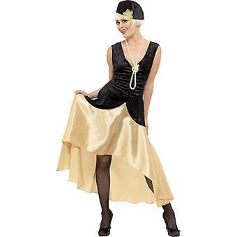 20er Jahre Charleston Kleid Damen Gatsby 20ies Dixieland Kostüm