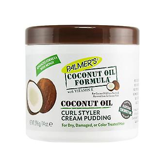 Palmer's Coconut Oil Formula Coconut Oil Curl Styler Cream Pudding 396g