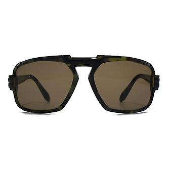 Cazal 8023 Sunglasses In Green Camouflage
