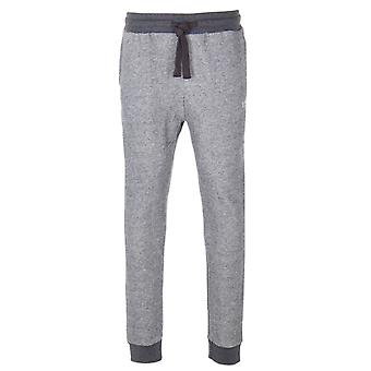 Emporio Armani Grey Marl Lounge Jogger Bottoms