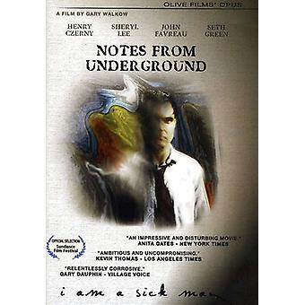 Notes From Underground [DVD] USA import