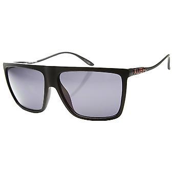 Lightweight Flat Top Sports Plastic Wire Frame Sunglasses