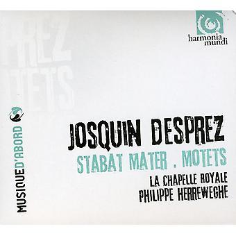 D. Josquin - Josquin Desprez: Stabat Mater; Motetter [CD] USA import