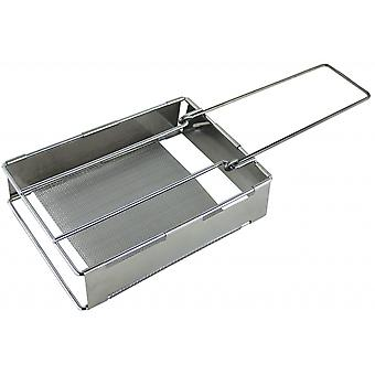 Yellowstone Steel Folding Camping Toaster