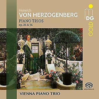 Herzogenberg / Viena Piano Trio - Piano Trios 24 y 36 [SACD] USA import
