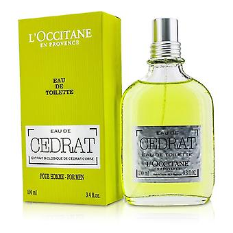 L ' Occitane Eau De Cedrat Eau De Toilette Spray 100ml/3,4 Unzen