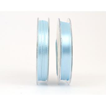3mm Baby BluePolyester Satin Craft Ribbon - 10m | Ribbons & Bows for Crafts