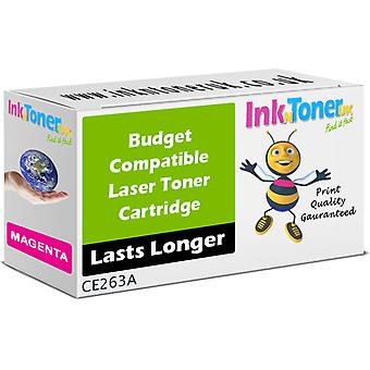 Compatible 648A Magenta CE263A Toner for HP Colour LaserJet CP4025dn