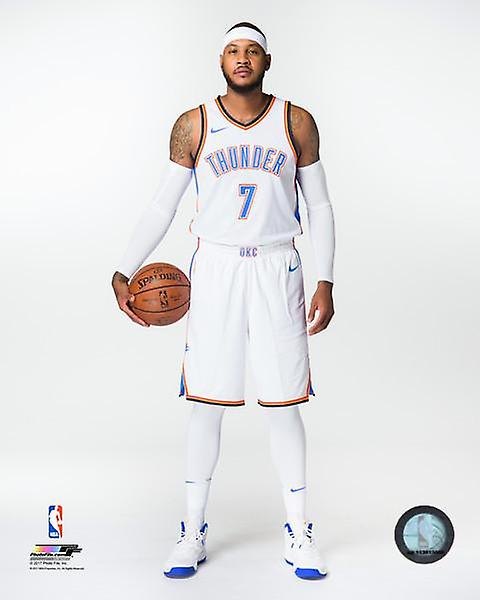 Carmelo Anthony 2017 Posed Photo Print