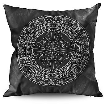 Mandala Linen Cushion Mandala | Wellcoda