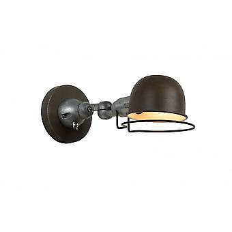 Lucide HONORE Wall Light E14 H11.5cm Rusty