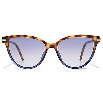Marc Jacobs Cateye Sunglasses In Havana Brown Blue