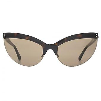 Stella McCartney Iconic Cateye Sunglasses In Havana