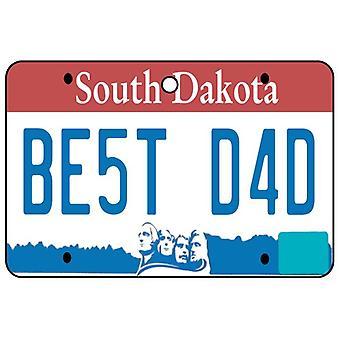 South Dakota - beste papa kenteken auto luchtverfrisser