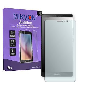 Huawei Mate 9 Screen Protector - Mikvon AntiSun (Retail Package with accessories) (intentionally smaller than the display due to its curved surface)