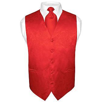 مجموعة الرجال بيزلي تصميم اللباس الرقبة ربطه عنق & سترة التعادل لرفع الدعوى أو تكس