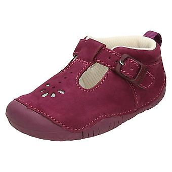Girls Startrite T-Bar Casual Shoes Baby Bubble