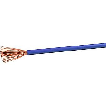 Flexible cable H07V-K 1 x 2.50 mm² Blue VOKA Kabelwerk